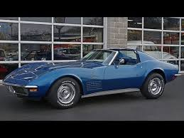 1972 corvette stingray 454 for sale 1971 corvette 454 ls5 big block coupe