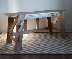 anna white desk diy corner desk using ana white fancy x desk plan