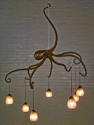 octopus lamps lighting and ceiling fans