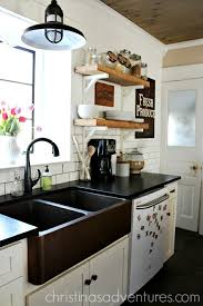 black countertop with black sink leathered granite counter tops christinas adventures