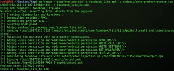 android terminal apk injecting backdoor in android application apk greycel