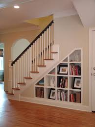 ideas for space under stairs stair storage storage design and