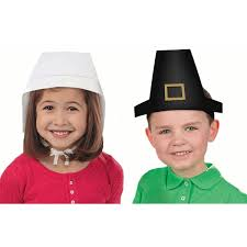 thanksgiving hats the thanksgiving pilgrim paper hats and bonnets make the great