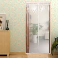 Jml Door Curtain by Surpass Transparent Winter Screen Door Curtain Magnetic Thermal