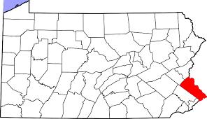 bucks county map file map of pennsylvania highlighting bucks county svg wikimedia
