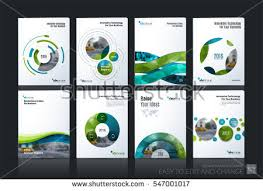technical brochure template business vector brochure template layout cover stock vector