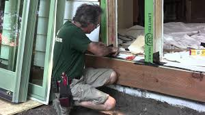 Flashing Patio Door by Installing Exterior Doors U0026 Windows Preparing The Sill Youtube