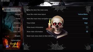 halloween menu background guide to install halloween skin by fanriffic best for kodi