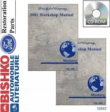 manualspro 2001 ford mustang shop service repair manual cd