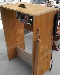 bench for circular saw diy table saw using circular saw pinteres