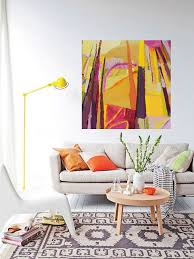 bold colorful abstract art landscape painting by danielle nelisse bold colorful abstract art landscape painting by danielle nelisse completes interior design accessories abstract art