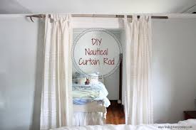 diy curtain rod finding silver pennies