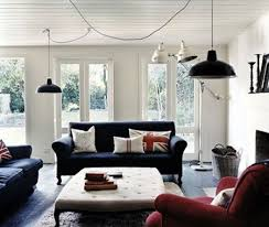 Best Living Room Red White  Blue Images On Pinterest Home - Red and blue living room decor