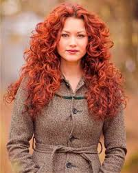 long curly red hairstyles fade haircut