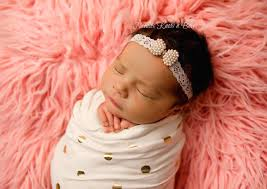 headband newborn pearl bow lace headband newborn headband baby christening