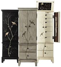 Jewlery Armoires Chirp Jewelry Armoire Find The Solution To Concealing And
