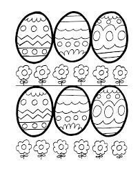 Easter Egg Coloring Page Lezardufeu Com Egg Colouring Page