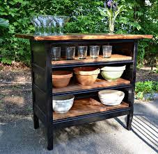 Turning Dresser Into Bookshelf Best 25 Dresser Kitchen Island Ideas On Pinterest Diy Kitchen