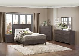 Bedroom Collections Furniture Homelegance Lavinia Bedroom Collection Weathered Grey 1806 Bed