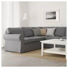Sectional Cushions Ektorp Sectional 4 Seat Corner Lofallet Beige Ikea