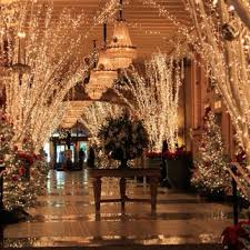 lighting inc new orleans louisiana crescent city christmas roosevelt gingerbread village and lobbies