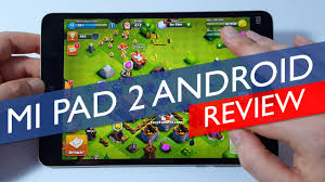 xiaomi mi pad 2 review android version youtube