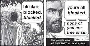 Blocked Meme - dril tract none of you are free of sin know your meme