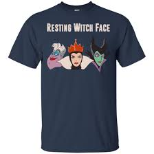 Disney Halloween Tee Shirts by Maleficent Disney Resting Witch Face Halloween T Shirts Hoodies