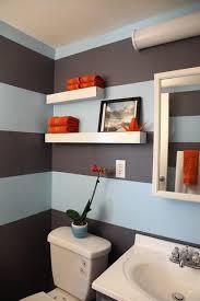 Gray Bathroom Paint Best 25 Striped Bathroom Walls Ideas On Pinterest Stripe Walls