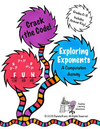 132 best teaching exponents images on pinterest teaching math