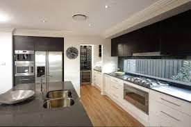 modern kitchens pinterest love the cupboards handles and glass splash back kitchen designs
