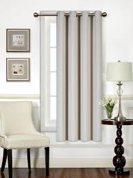 Beige And Gray Curtains Blackout Curtains Mellanni Linens