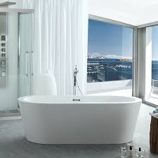 1267 Best White Bathrooms Images by Bathtubs Virtu Usa