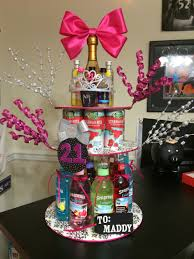 cake gift baskets 21st birthday cake diy crafts crafts and more crafts