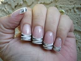 37 acrylic nails with designs on tips stylepics
