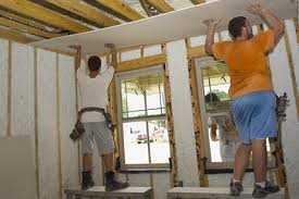 How To Sheetrock A Ceiling by How Do I Install Drywall Better Life