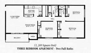 three bedroom flat floor plan three bedroom apartments floor plans