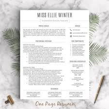 Pages Templates Resume 26 Best Creative Resume Templates Images On Pinterest Resume