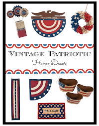 American Flag Home Decor Vintage Patriotic Home Decor We Got The Funk