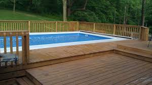 opinion u0027s on a semi inground or above ground fully inground pool
