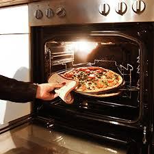 Relaxdays 3 Plaques de pizza support en acier inoxydable
