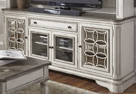 Antique White Desks by Magnolia Manor Antique White Entertainment Tv Stand From Liberty