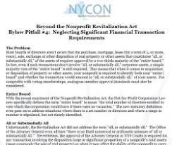 nycon top 5 bylaws pitfalls for new york state u0027s nonprofits