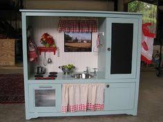tv cabinet kids kitchen diy the best play kitchen ever entertainment plays and kitchens