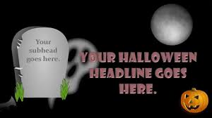 halloween animated powerpoint slide youtube