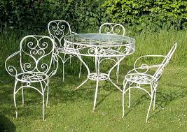 White Metal Patio Chairs White Metal Chair Outdoor Alvinjamur Info
