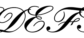 capitalization capital cursive e in math mode tex latex