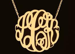 3 initial monogram necklace silver pleasurable inspiration 3 initial monogram necklace 79 best