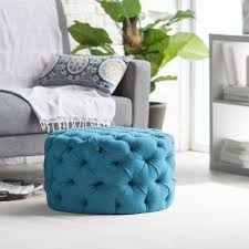 Damask Storage Ottoman by Furniture Small Grey Round Tufted Ottoman For Home Furniture Ideas