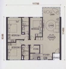 H2o Residences Floor Plan by